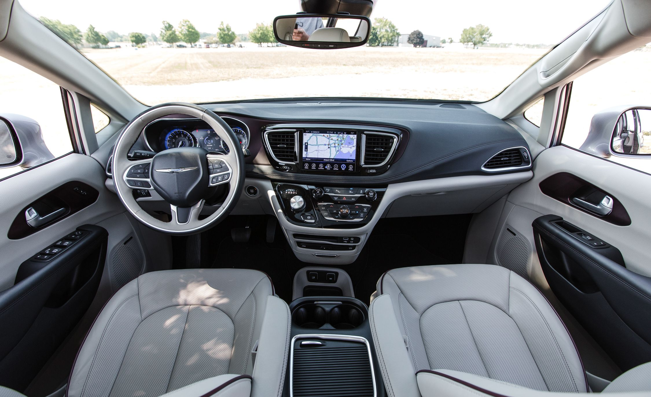 2019 Chrysler Pacifica Reviews Price Photos And Specs Car Driver