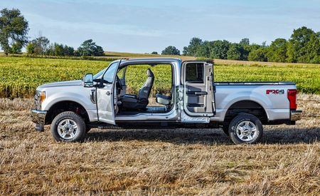 2017 Ford F-series Super Duty Tows All of the Heavy Things
