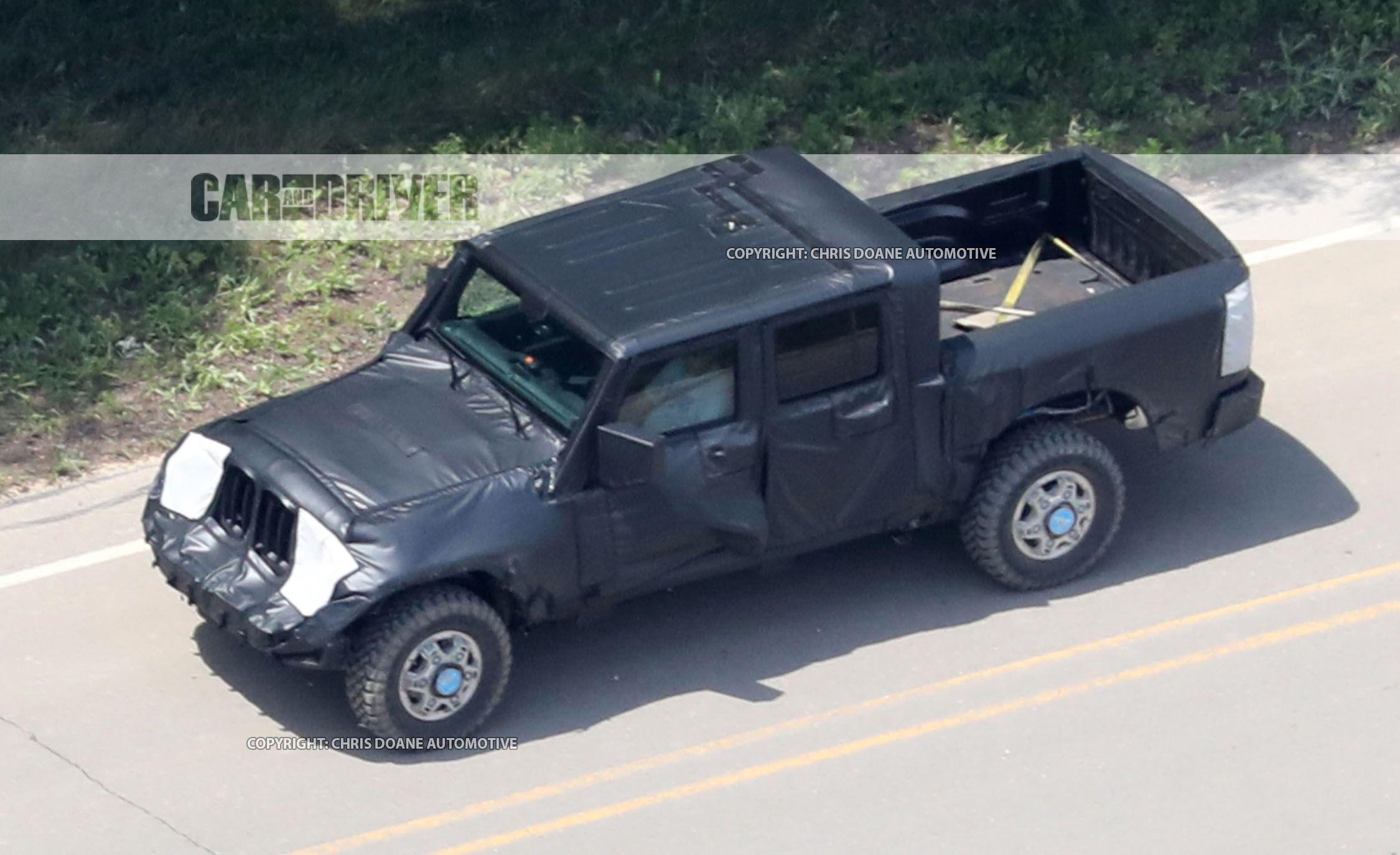 Jeep Wrangler Pickup Reviews