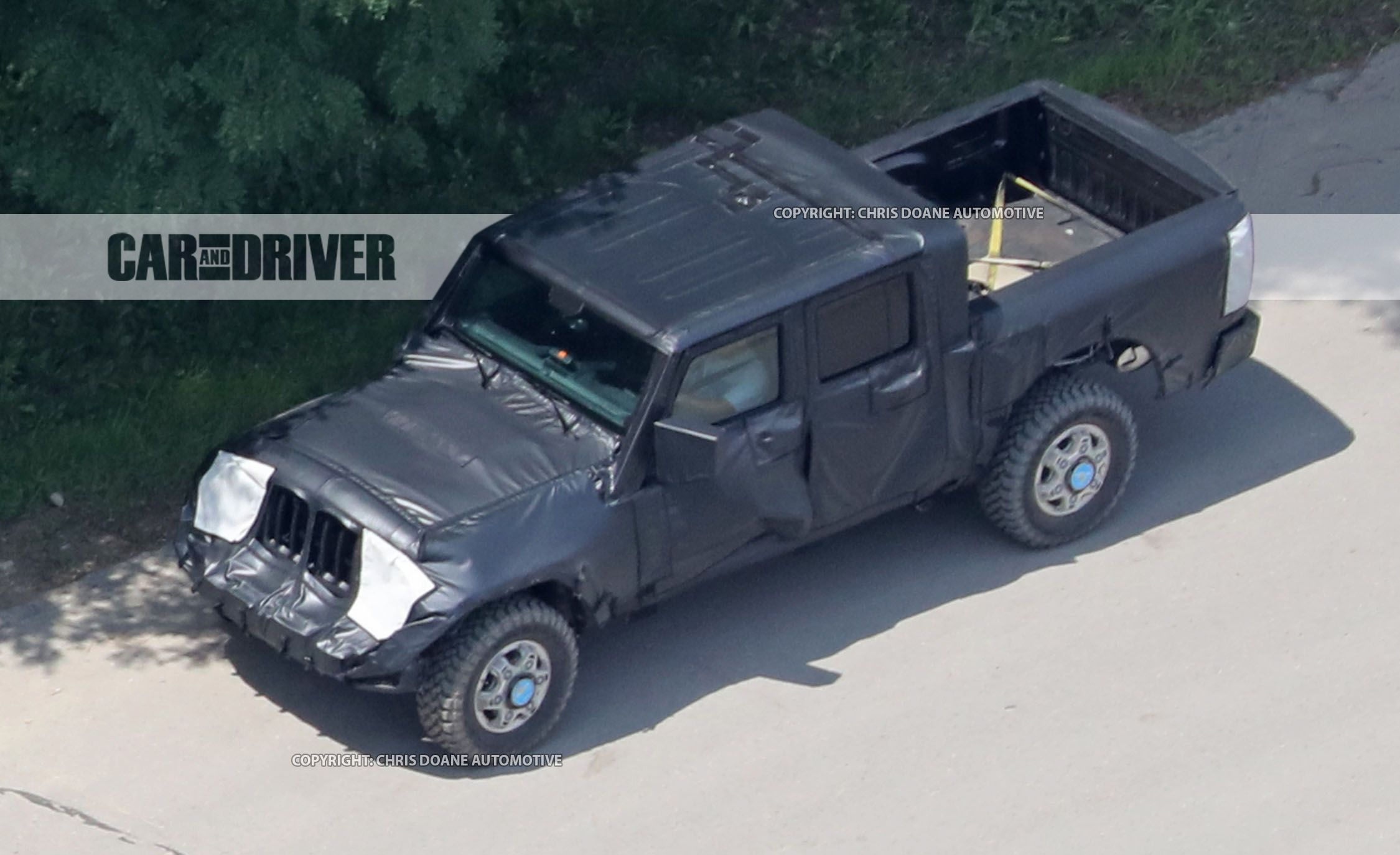 Jeep Wrangler Pickup Reviews Price Photos Pick Up 2015 Specs And Car Driver