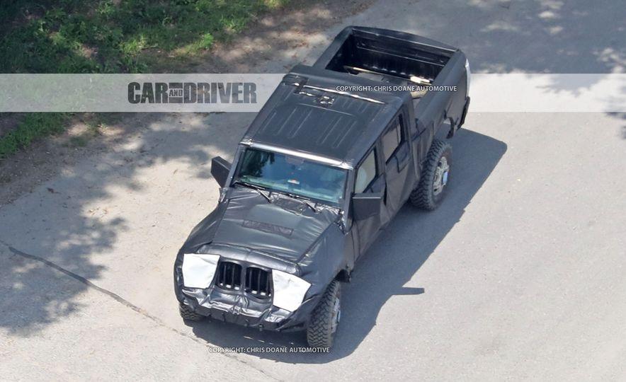 2018 Jeep Wrangler Pickup (spy photo) - Slide 1