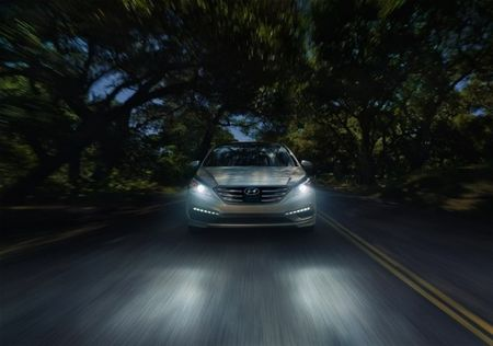 Baby's Got The Bends: 2017 Hyundai Sonata Adds Dynamic Headlights