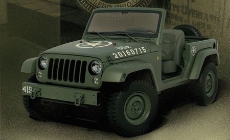 75-Year Salute: Jeep's Anniversary Gift to Itself Is This Willys MB–Inspired Concept