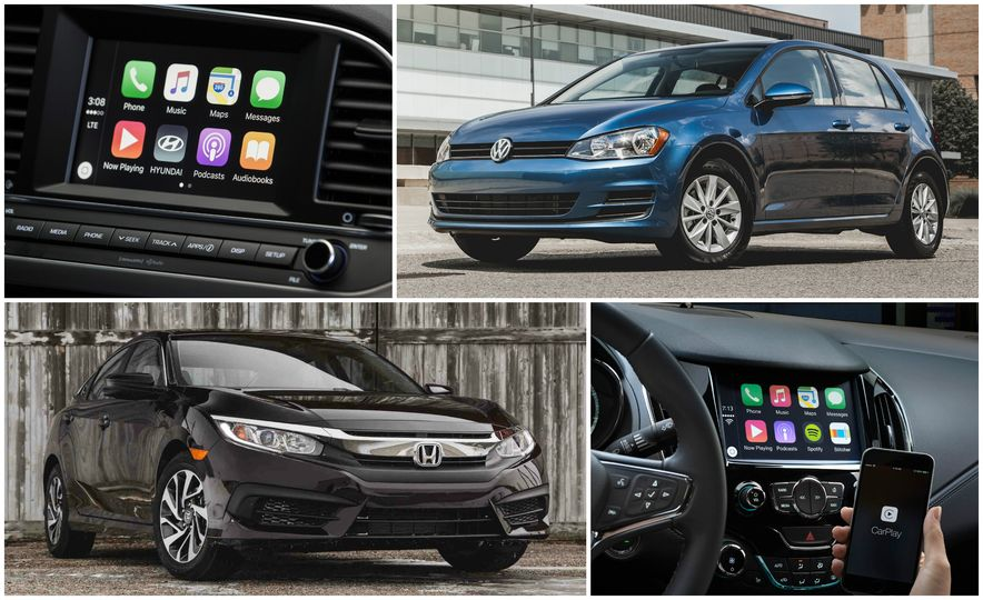 Connectivity Now: The 10 Cheapest Cars with Apple CarPlay and Android Auto - Slide 1