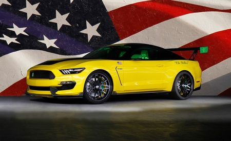 "Ford Channels P-51D ""Ole Yeller"" Show Plane with Latest Aircraft-Inspired Mustang"