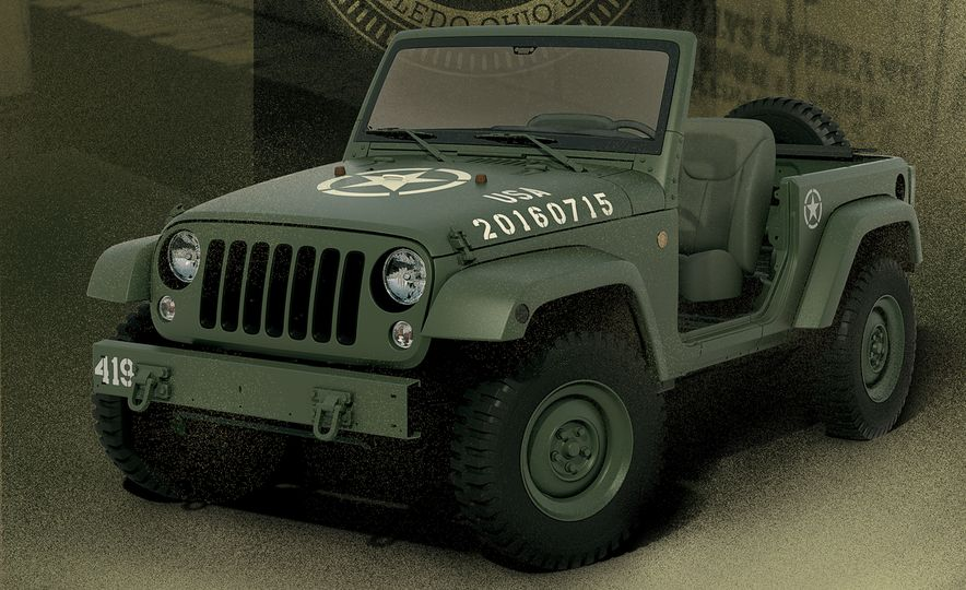 Jeep Wrangler 75th Salute Edition - Slide 1