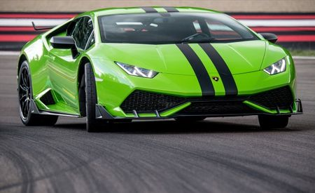 Trick Out Your Lamborghini Huracan with a New Aero and Graphics Kit