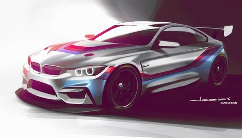 Bmw M4 Gt4 Race Car Coming In 2017 To Race In 2018 News Car And