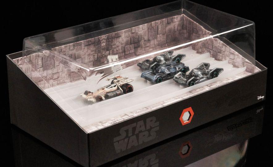 Star Wars Hot Wheels Carships - Slide 4