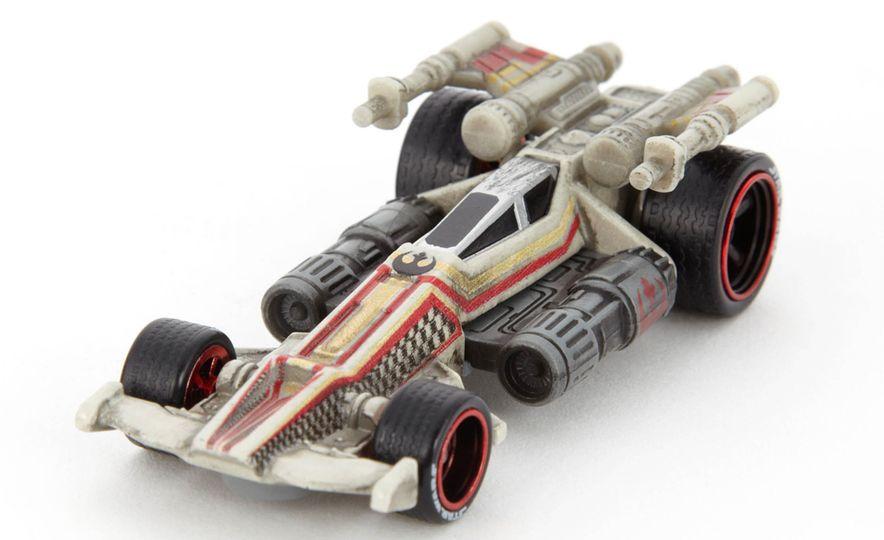 Star Wars Hot Wheels Carships - Slide 7