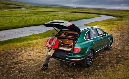 A Bentayga Runs through It: Finally! A Bentley Optimized for Fly Fishing!