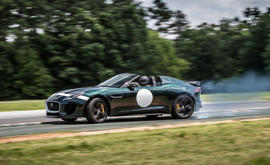 2016 Jaguar F-type Project 7 - Slide 1