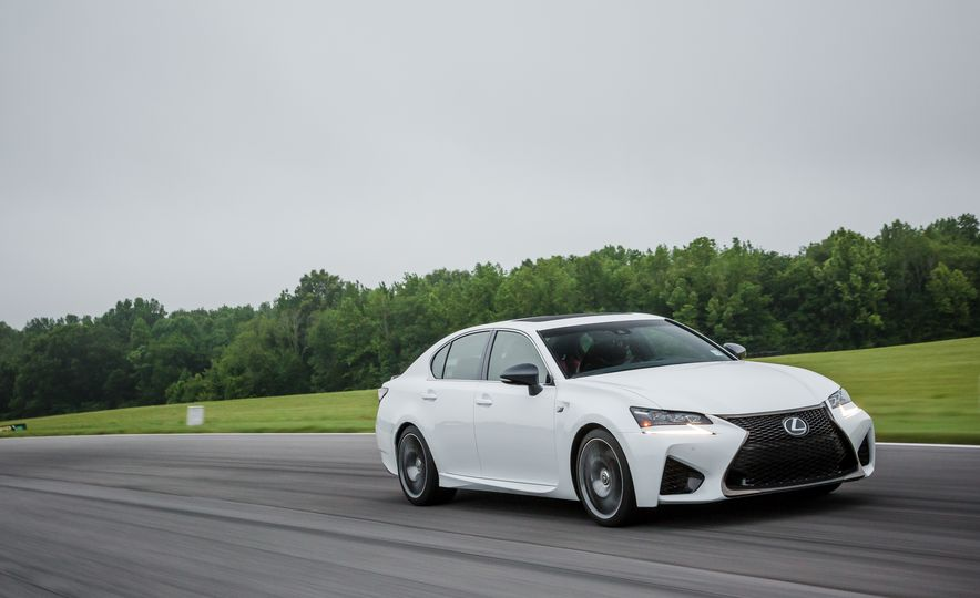 2016 Audi TTS and 2016 Lexus GS F - Slide 2