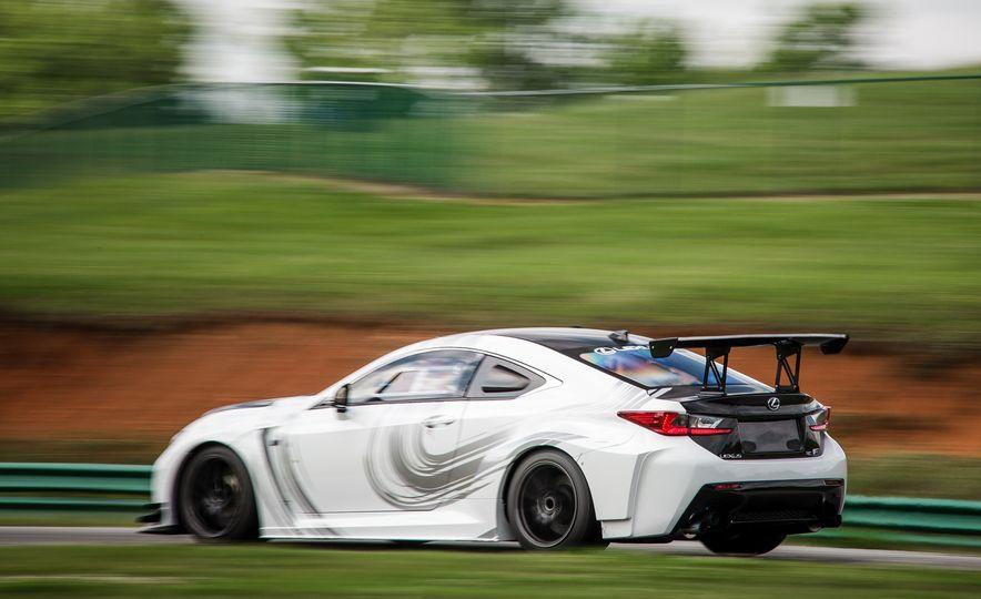 2016 Lexus RC F GT concept - Slide 8