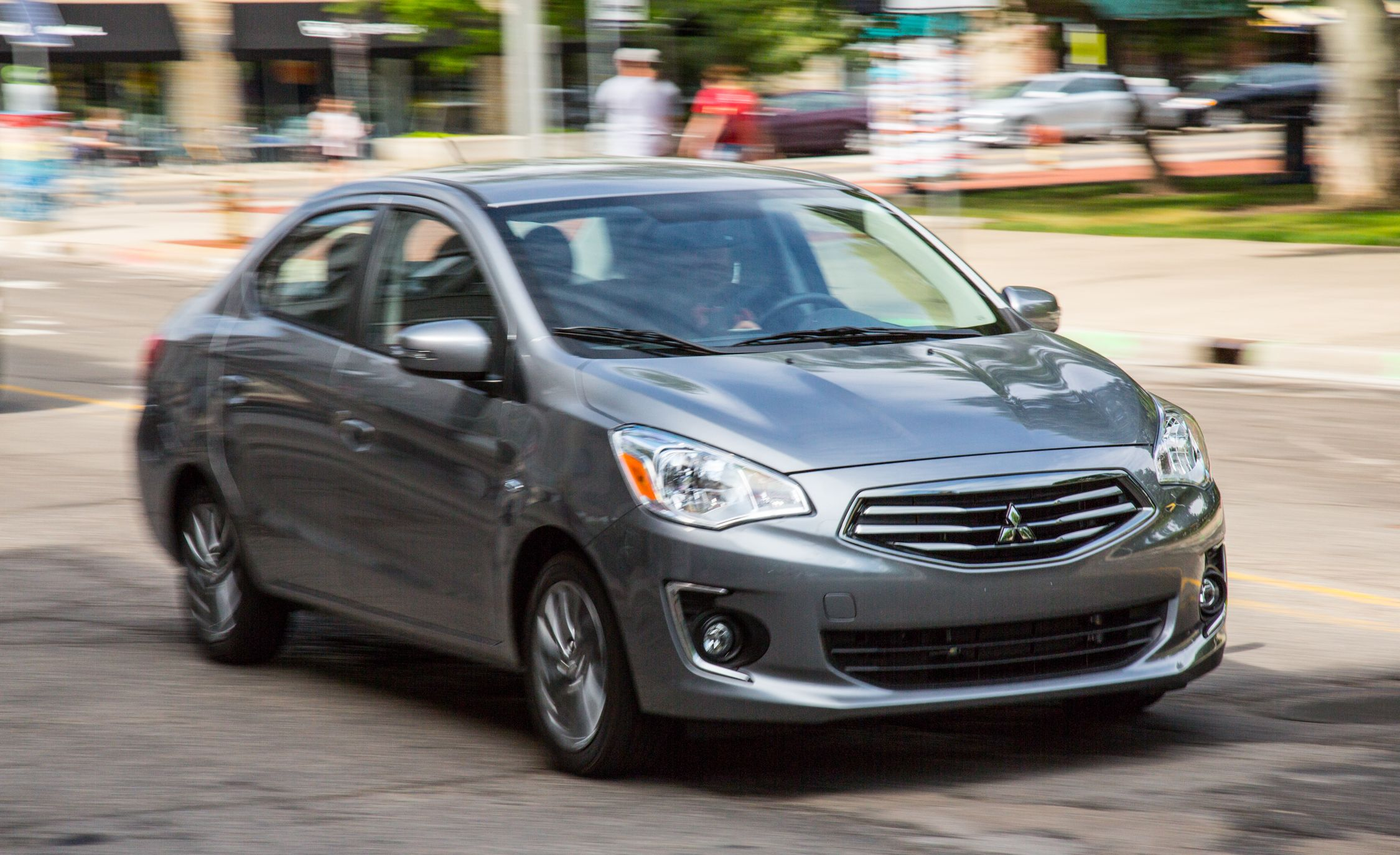 2019 Mitsubishi Mirage G4 Reviews Price Photos And Specs Car Driver