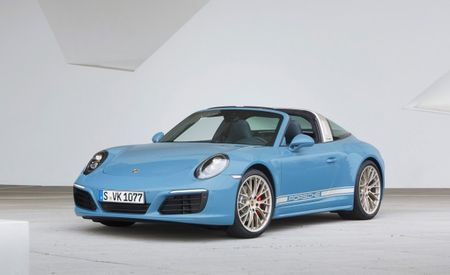 Really, Really, Ridiculously Good-Looking: Porsche 911 Targa 4S Exclusive Design Edition