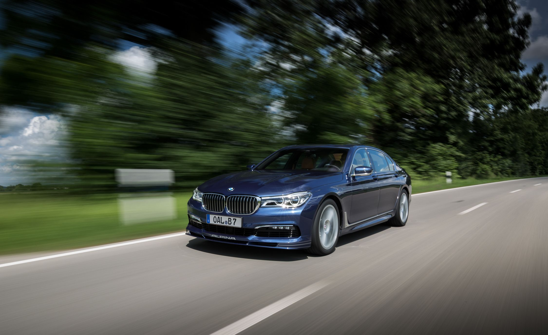 BMW Alpina B First Drive Review Car And Driver - Bmw m7 alpina
