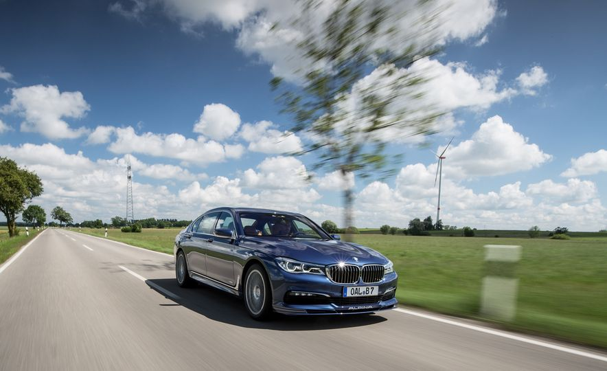 2017 BMW Alpina B7 - Slide 8
