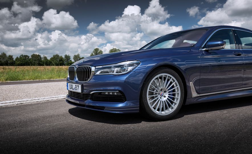 2017 BMW Alpina B7 - Slide 24