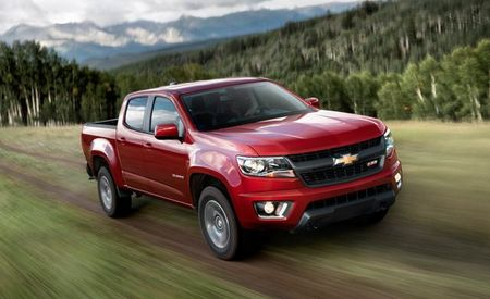 New V-6 and Eight-Speed Automatic Lead Changes for 2017 Chevrolet Colorado