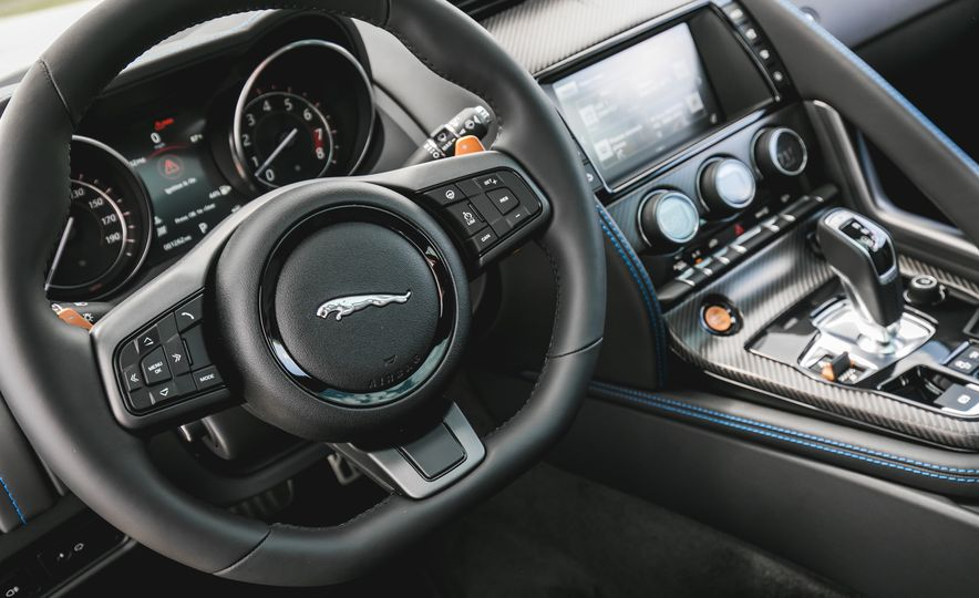 2017 Jaguar F-type S coupe - Slide 42
