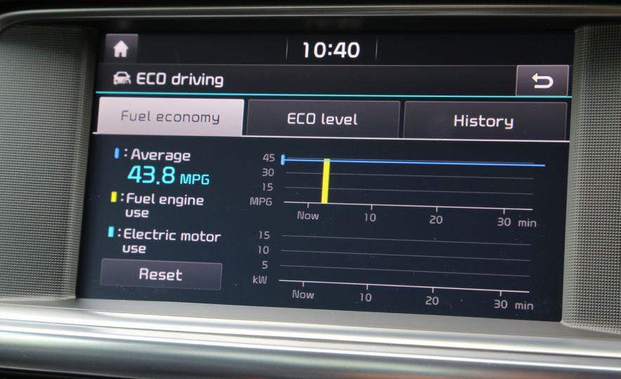 2017 Kia Optima hybrid (Euro-spec) - Slide 15