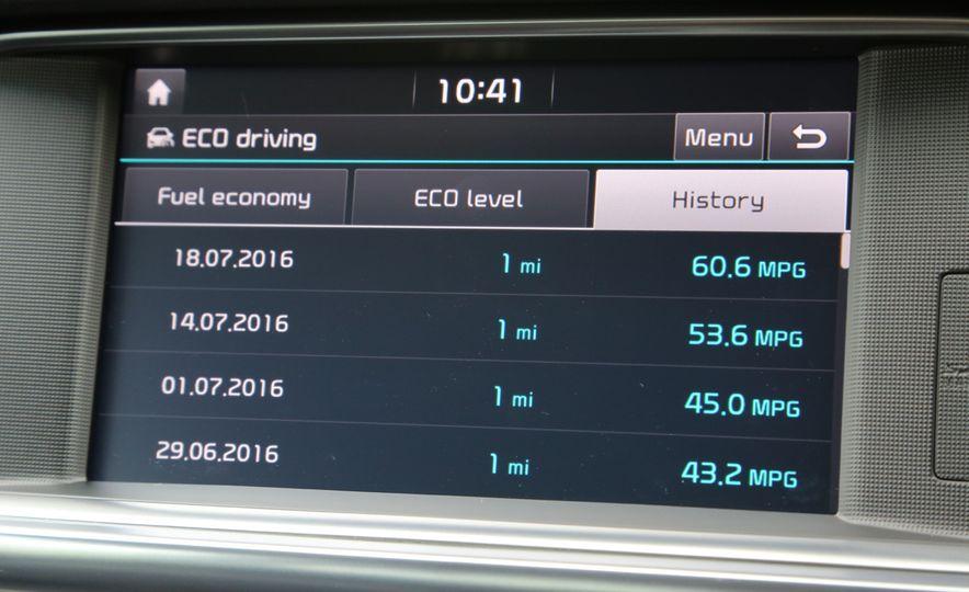 2017 Kia Optima hybrid (Euro-spec) - Slide 17
