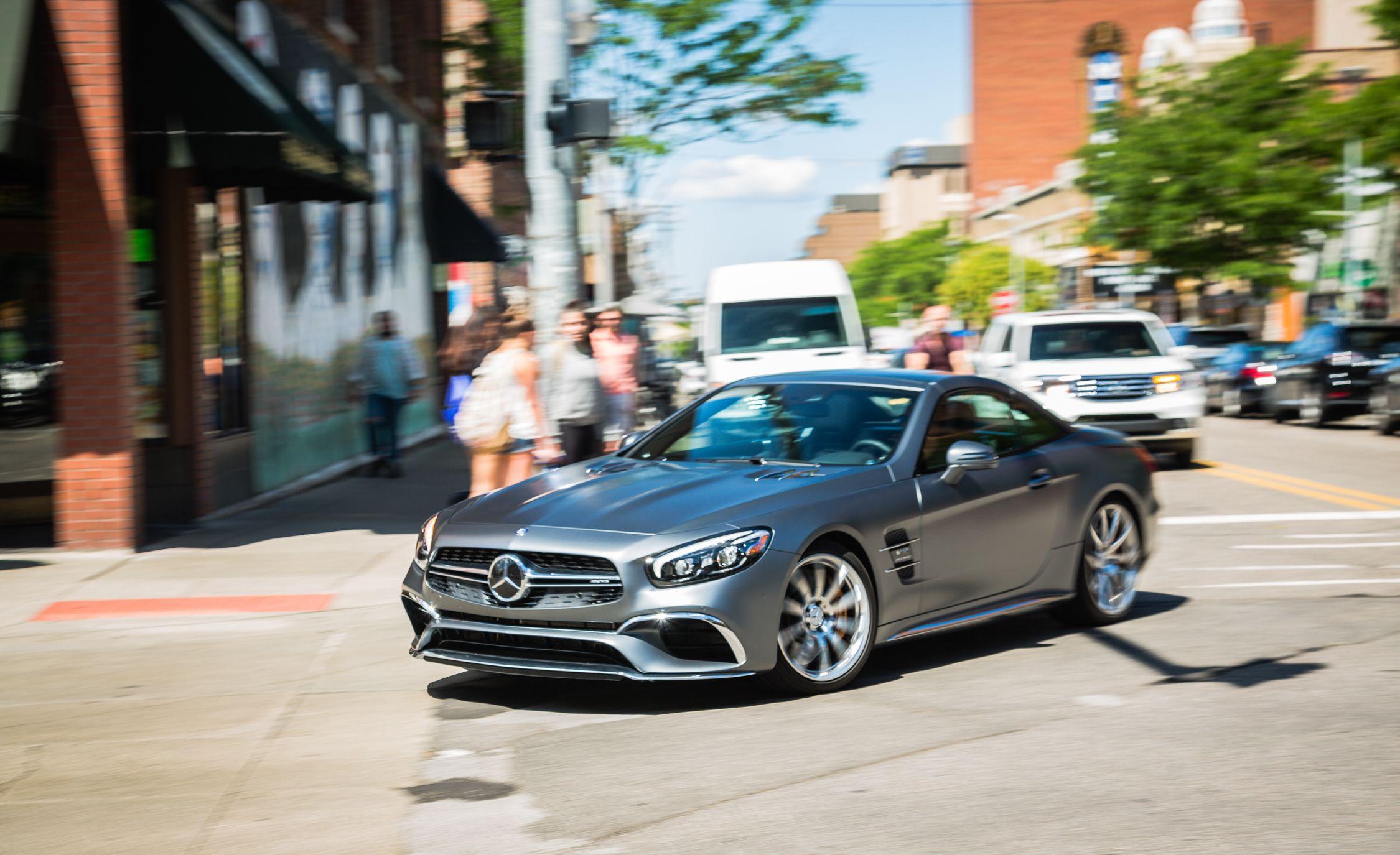 2019 Mercedes Amg Sl63 Sl65 Reviews Price Photos And Specs Car Driver