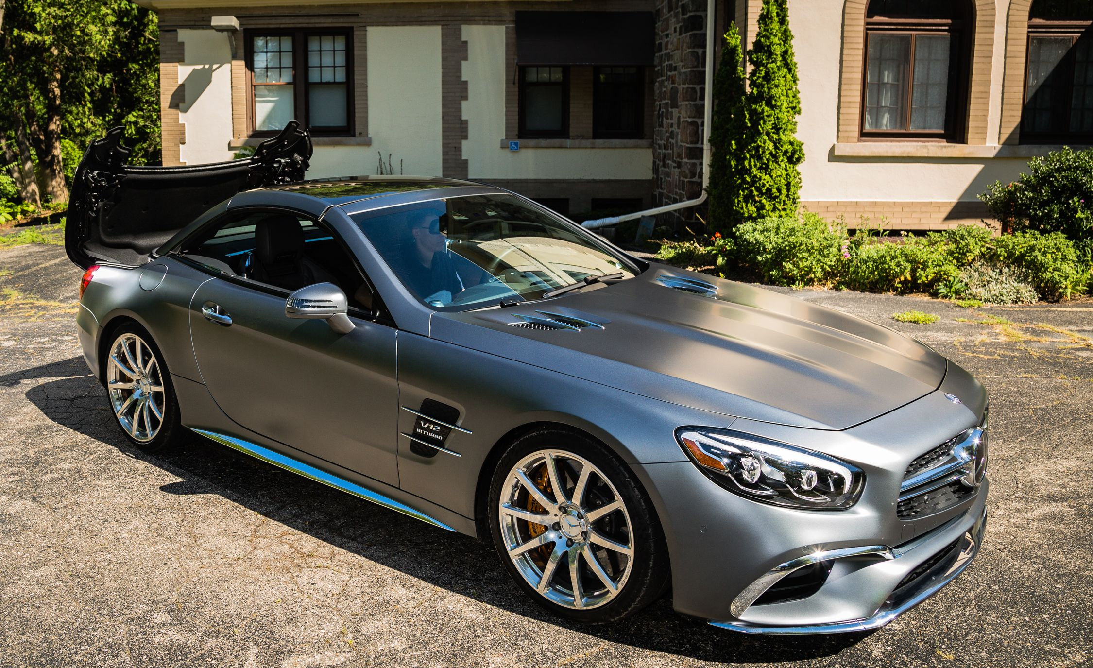 2019 Mercedes Amg Sl63 Sl65 Reviews Price Photos And Specs Car Driver