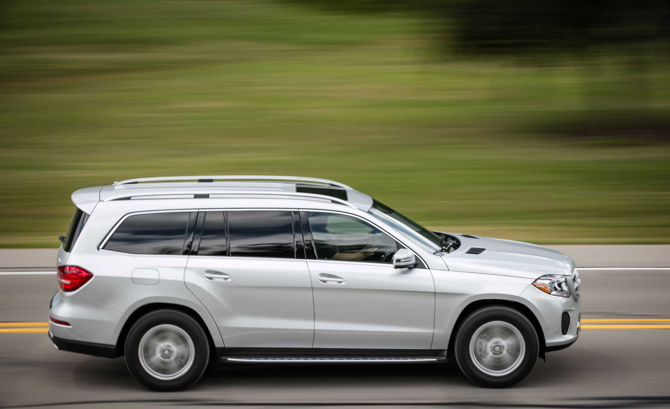 Mercedes Benz Gls Cl Reviews Price Photos And Specs Car Driver