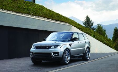Range Rover Sport Gets Updated Infotainment, New Safety Tech for 2017
