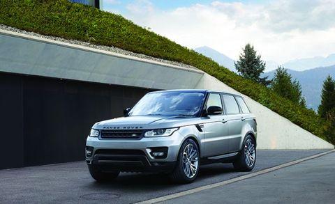 2017 Range Rover Sport Front