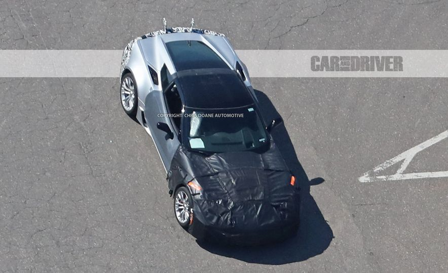 2018 Chevrolet Corvette ZR1 (spy photo) - Slide 1