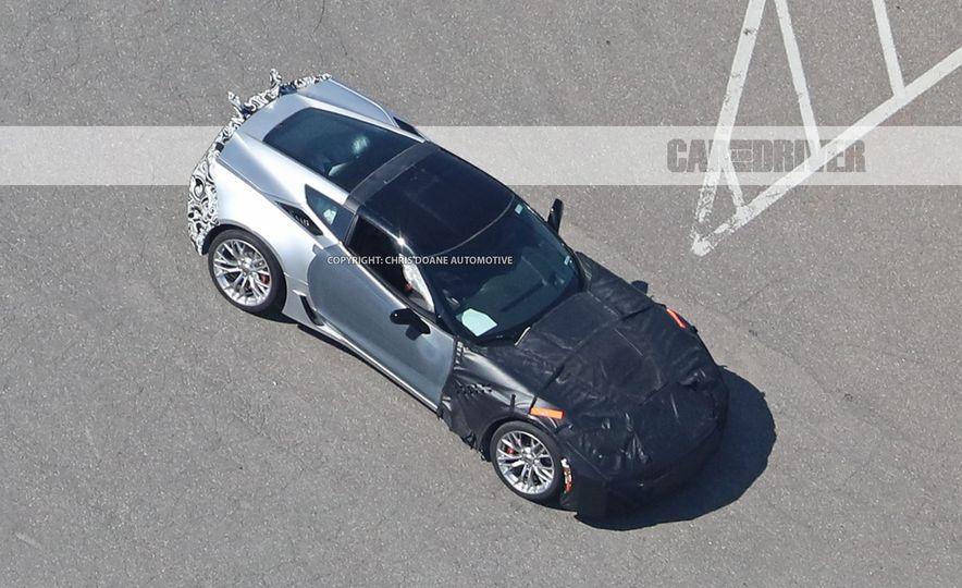 2018 Chevrolet Corvette ZR1 (spy photo) - Slide 3