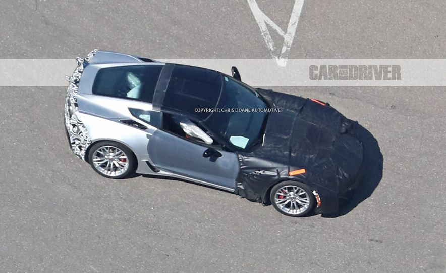 2018 Chevrolet Corvette ZR1 (spy photo) - Slide 5