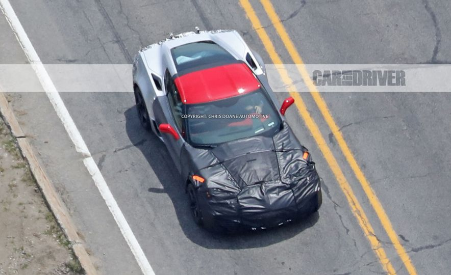 2018 Chevrolet Corvette ZR1 (spy photo) - Slide 24