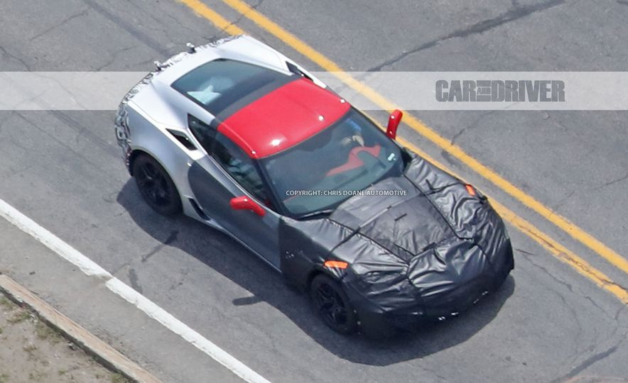 2018 Chevrolet Corvette ZR1 (spy photo) - Slide 26