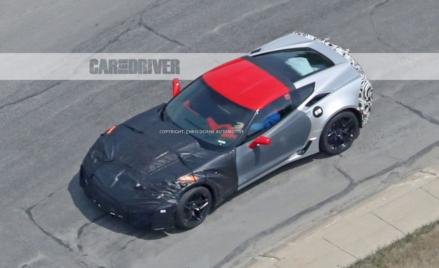 2018 Chevrolet Corvette ZR1 (spy photo) - Slide 43