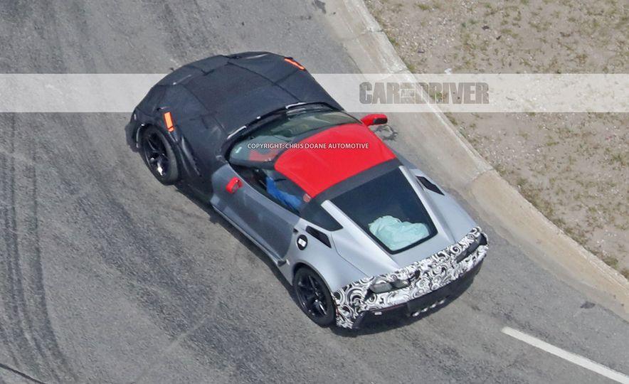 2018 Chevrolet Corvette ZR1 (spy photo) - Slide 49