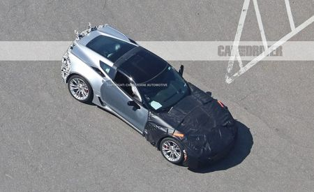 Taking Wing: More Spy Photos Hint at Active Aero for 2018 Corvette ZR1