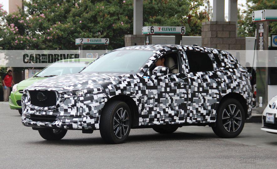 2018 Mazda CX-5 (spy photo) - Slide 1