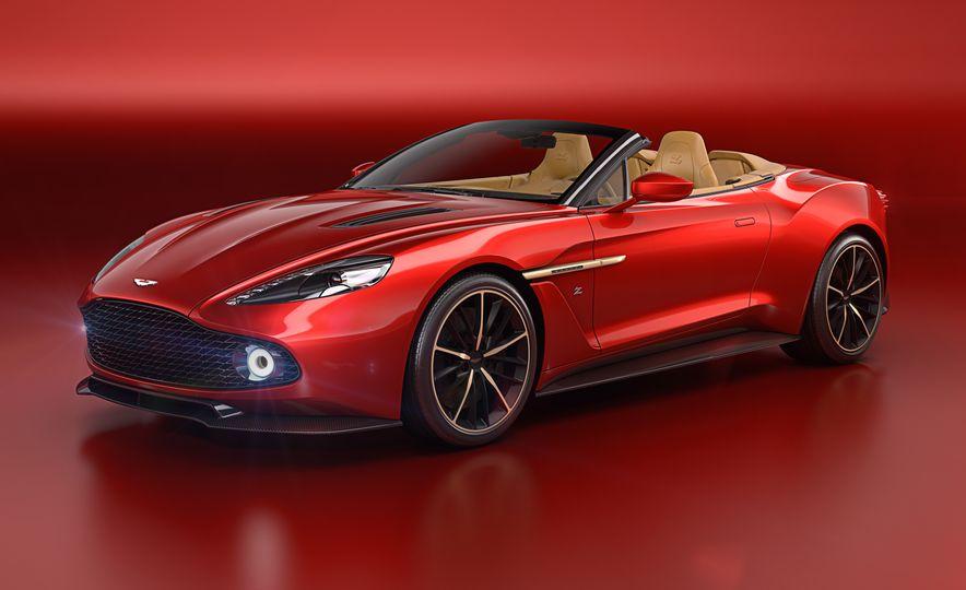Aston Martin Vanquish Zagato Volante - Slide 3
