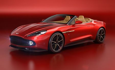 Aston Martin Vanquish Zagato Returns, This Time As a Convertible