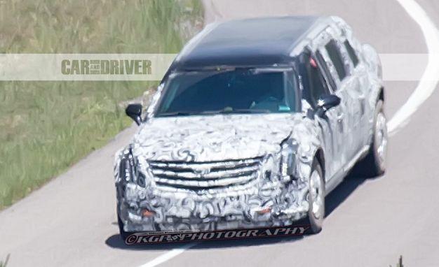 Cadillac Presidential Limousine (spy photo) Photo Gallery