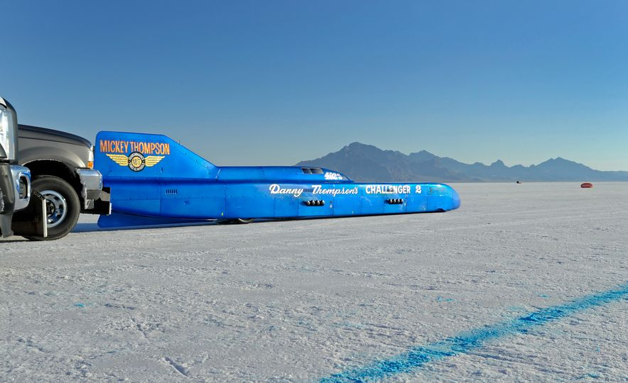 Danny Thompson Breaks His Dad's 48-Year-Old Family Bonneville Record - Slide 1