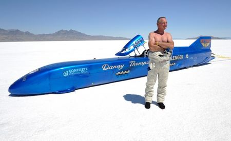 Danny Thompson Breaks His Dad's 48-Year-Old Family Bonneville Record