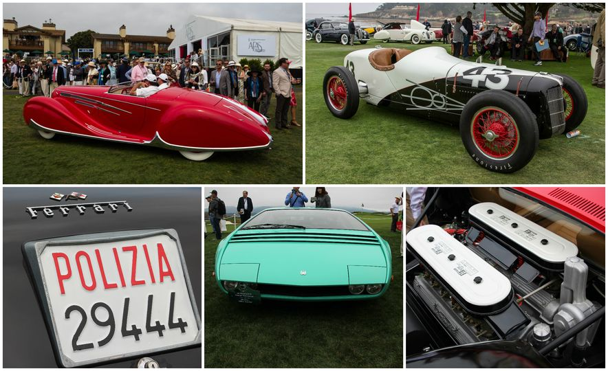 Editors' Picks: Our Favorites from the 2016 Pebble Beach Concours d'Elegance - Slide 1