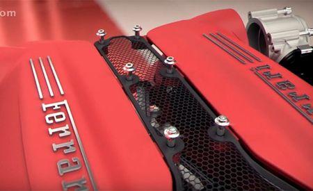 Gratuitous Engine Video: The Ferrari 488GTB's Turbocharged V-8