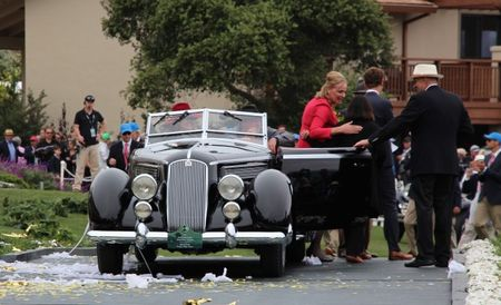 The Big Prize: 1936 Lancia Astura Pinin Farina Cabriolet Wins 2016 Pebble Beach Concours Best of Show