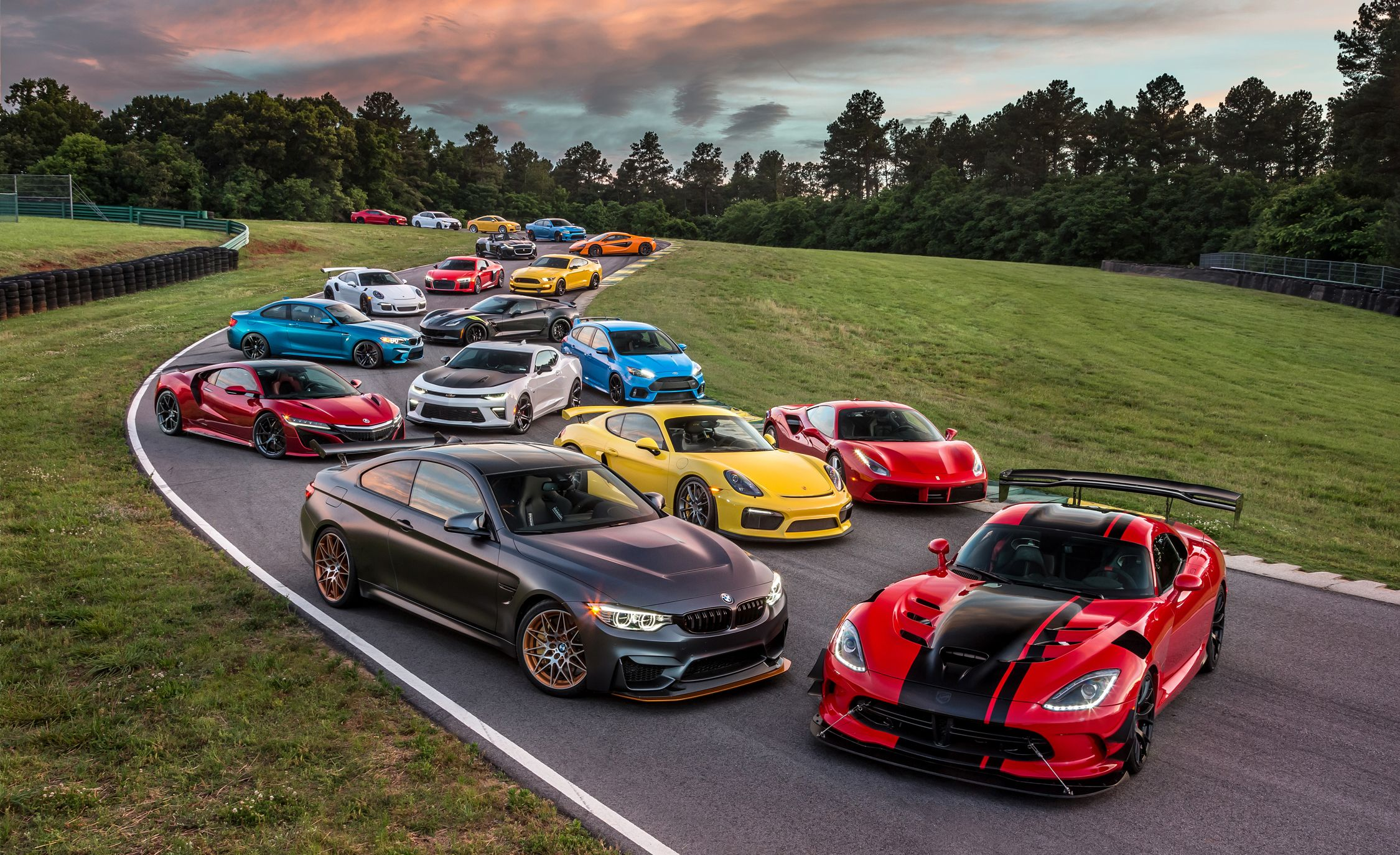 Lightning lap 2016 the year s fastest street cars on america s toughest track